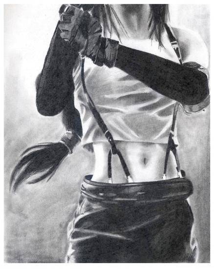 Tifa Lockhart par VeronicaVaine